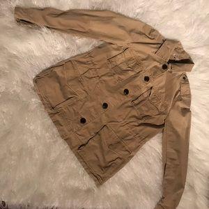 Kaki coat